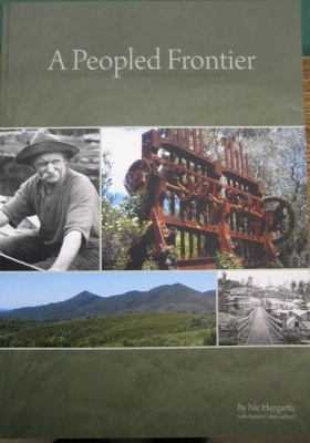 Image for A Peopled Frontier : the European heritage of the Tarkine area.