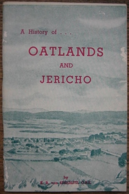 Image for A History of Oatlands and Jericho.