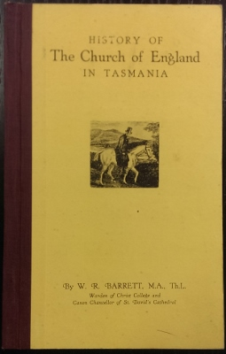 Image for History of the Church of England in Tasmania.