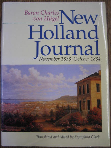 Image for New Holland Journal, November 1833 - October 1834.