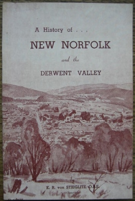 Image for A History of New Norfolk and the Derwent Valley.