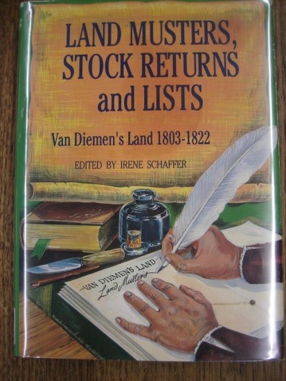 Image for Land Musters, Stock Returns and Lists: Van Diemen's Land, 1803-1822.