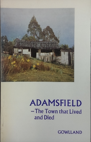 Image for Adamsfield : the town that lived and died.