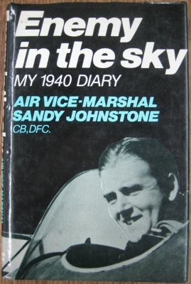 Image for Enemy in the Sky. My 1940 Diary.