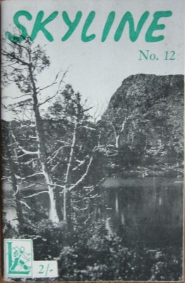 Image for SKYLINE, no 12. Annual Magazine of the Launceston Walking Club.