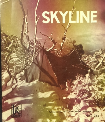 Image for SKYLINE, no 19. Annual Magazine of the Launceston Walking Club.
