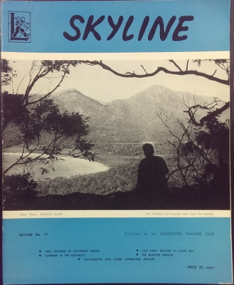 Image for SKYLINE, no 17. Annual Magazine of the Launceston Walking Club.