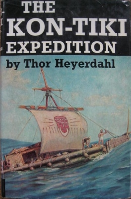 Image for The Kon-Tiki Expedition : by raft across the South Seas.