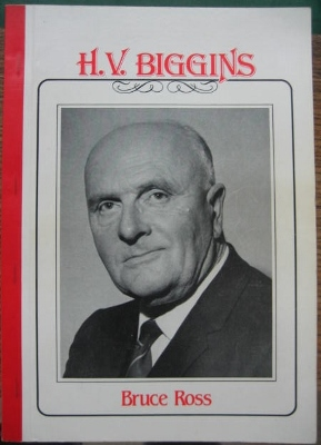 Image for H.V. Biggins : headmaster extraordinary. A biography.
