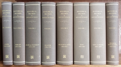 Image for Historical Records of New South Wales : Volumes 1 to 7 (in eight).